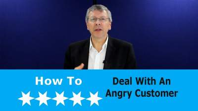 dealing with an angry customer on the phone