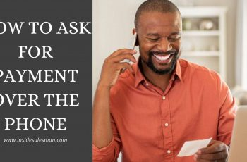 how to ask for payment over the phone
